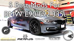 best for bmw 335i 5 best mods for your e90 e92 335i