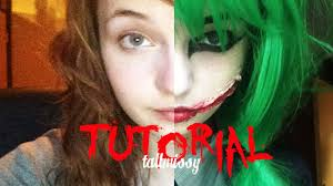 Youtube Halloween Makeup by Tutorial Female Joker Tallmissy Youtube