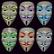 Anonymous Halloween Costume Led Vendetta Movie Costume Guy Fawkes Anonymous Halloween