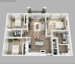 House Plans And Designs For 3 Bedrooms 4 Bedroom 2 Story House Plans 3d Awesome 25 More 2 Bedroom 3d