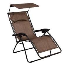 Summer Wind Patio Furniture Zero Gravity Chair Oversized Lounge Chair With Canopy By Summer