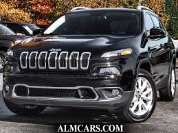 jeep cherokee grey 2017 2017 used jeep cherokee limited 4x4 at atlanta luxury motors