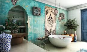 moroccan bathroom home design ideas