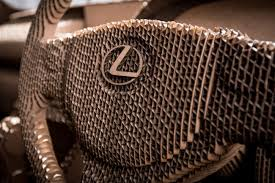 lexus hoverboard lego functional lexus origami car crafted from 1700 cardboard pieces