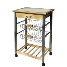 Kitchen Cart With Drawers by Kitchen Cart With Drawer And 2 Baskets 34122 80 95