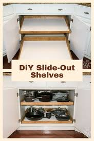 best 25 slide out shelves ideas on pinterest slide out pantry