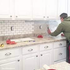 Tiles For Kitchen Backsplash Ideas Prime White Subway Tile Kitchen Backsplash