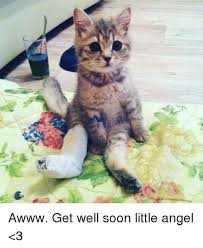 Meme Get Well Soon - ar awww get well soon little angel 3 meme on esmemes com