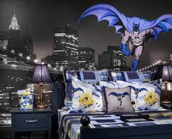 bedroom batman bedroom ideas using dining set and cool wallpaper