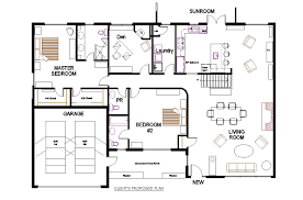 open plan bungalow floor plan one level floor plans 3 bed examples