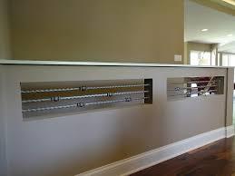 Wall Banister Open Plan Kitchen Hallway 13 On Pinterest Open Basement Stairs