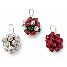 Red Mercury Glass Christmas Ornaments Glass Ball Cluster Christmas Ornaments U2013 Bella Bug