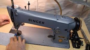 singer 196k5 heavy straight sewing machine with reverse youtube