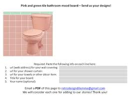 Pink Tile Bathroom by 11 Ideas To Decorate A Pink And Green Tile Bathroom Retro Renovation
