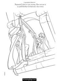 free coloring pages disney princess tangled rapunzel toddler