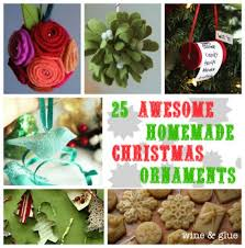 Home Made Christmas Decor 15 Easy And Festive Diy Christmas Ornaments Diy U0026 Crafts