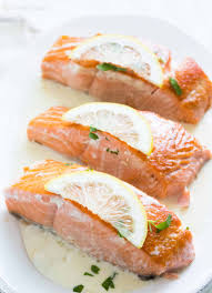 salmon with lemon sauce recipe simplyrecipes