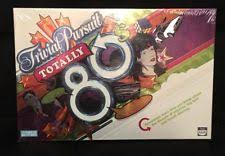 trivial pursuit 80s trivial pursuit totally 80s ebay