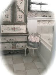 french country cottage vintage bathroom decor pinterest