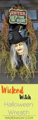 Halloween Wreath Wicked Witch Halloween Wreath