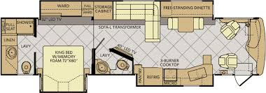 Rv Floor Plan Fleetwood Rv Introduces New Floor Plan For 2015 Expedition Diesel