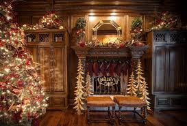 Elegant Christmas Decorating Ideas 2015 by Christmas Stocking Holders In Family Room Traditional With Diy