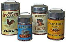 antique canisters kitchen collectible kitchen canisters ebay
