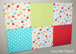 Office Board Design by Fabric Covered Bulletin Board Crazy Little Projects