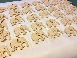 clay elephant ornaments through looking glass