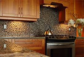 copper backsplash tiles kitchen surfaces pinterest pebble splash back kitchen makeover ideas pinterest kitchens