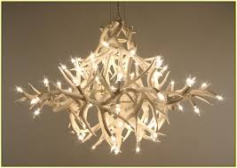 faux antler chandelier cheap home design ideas