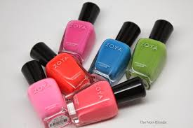 zoya tickled summer 2014 nail polish collection the non blonde