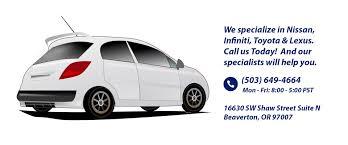 lexus mechanic portland oregon autovtech nissan infiniti toyota and nissan specialist