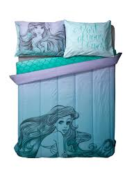 girls mermaid bedding disney the little mermaid cameo twin xl comforter topic