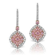 pink diamond earrings argyle pink diamond earrings barmakian jewelers
