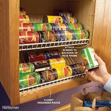 clever kitchen cabinet u0026 pantry storage ideas family handyman