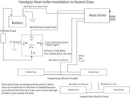 harley davidson heated grips wiring diagram harley davidson