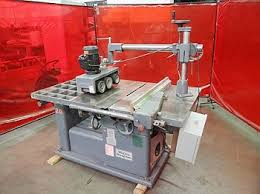 table saw power feeder irs auctions lot listing