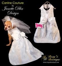 dog wedding dress designer dog wedding clothing