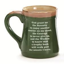 serenity prayer mug born to fish 18 oz coffee mug with fisherman s serenity prayer