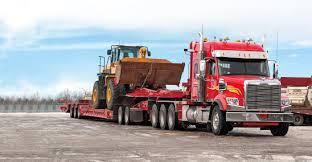 heavy haul truck vocational trucks freightliner trucks