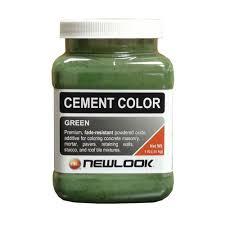 newlook 1 lb green fade resistant cement color cc1lb106 the