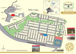 Islamabad Map Bahria Town Phase8 Key Plan Bahria Town Map