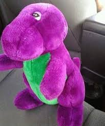 Barney And The Backyard Gang Episodes Barney Beanbag Toy Barney U0027s Dinosaur Barney Doll By Lauratrev1