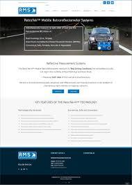 reflective measurement systems ridge design website design and