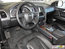 Audi Q7 Inside Black Interior 2008 Audi Q7 3 6 Premium Quattro Photo 39396357
