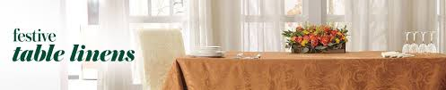 thanksgiving table linens tablecloths placemats napkin rings
