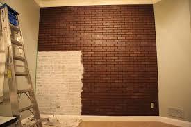 Faux Walls Faux Brick Interior Wall Wishy Washy Brick Wall Bower Power Home