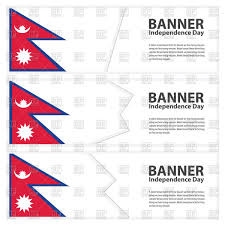 Pics Of Nepal Flag State Table Flag Of Nepal Royalty Free Vector Clip Art Image