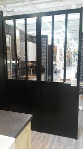 separation cuisine style atelier separation en verre style atelier